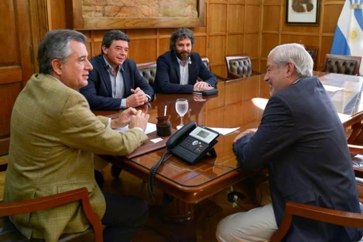 Ministro de Producción Jorge Vara en Buenos Aires