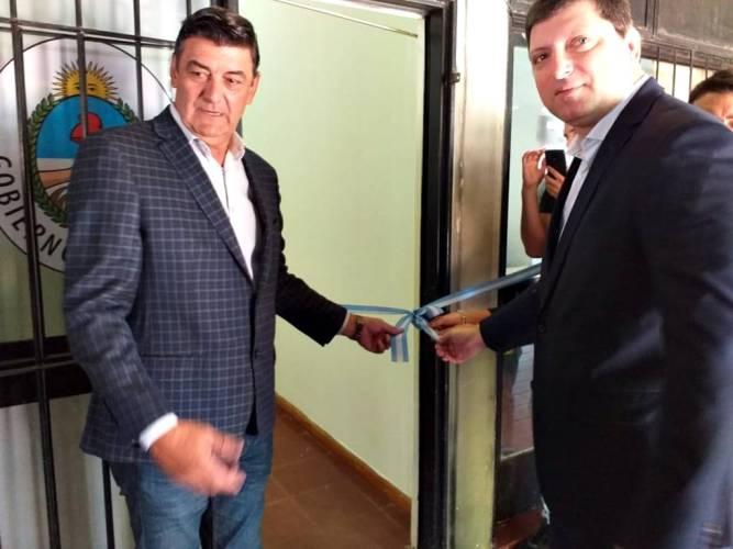 El ministro Schiavi inauguró oficina de Defensa del Consumidor en Ituzaingó
