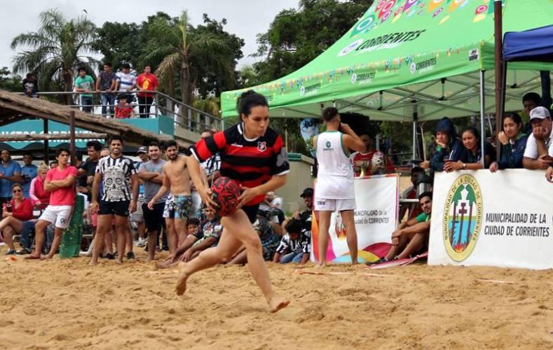 Arranca Rugby Beach en Corrientes