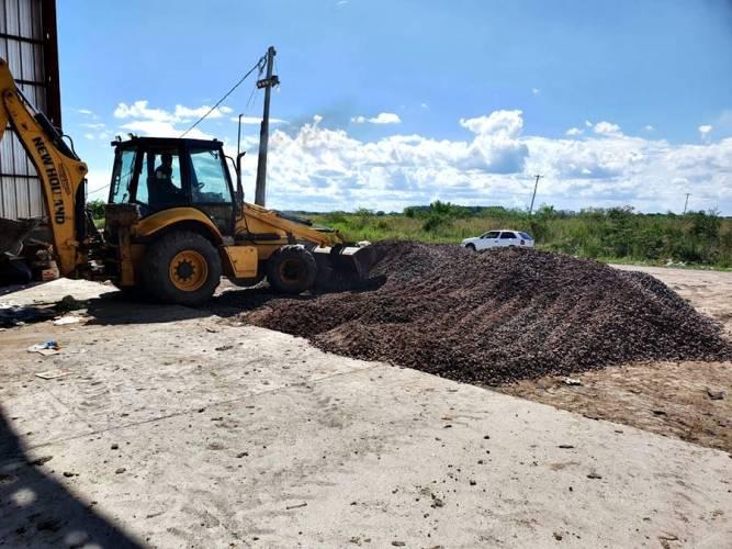 Enripiado Planta Clasificación de Residuos
