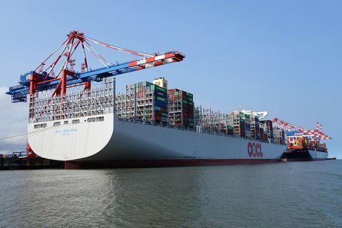 Kapal Kontainer Terbesar Di Dunia - OOCL HONGKONG