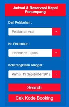 Mengecek Jadwal Kapal Pelni Via Website