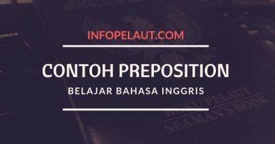 Contoh Preposition