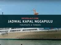 Jadwal kapal pelni Nggapulu tahun 2020 terbaru
