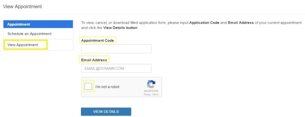 dfa cancel passport appointment