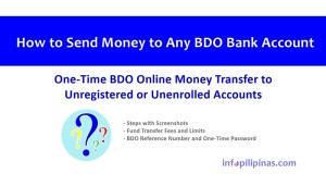 how to send money to any bdo account guide
