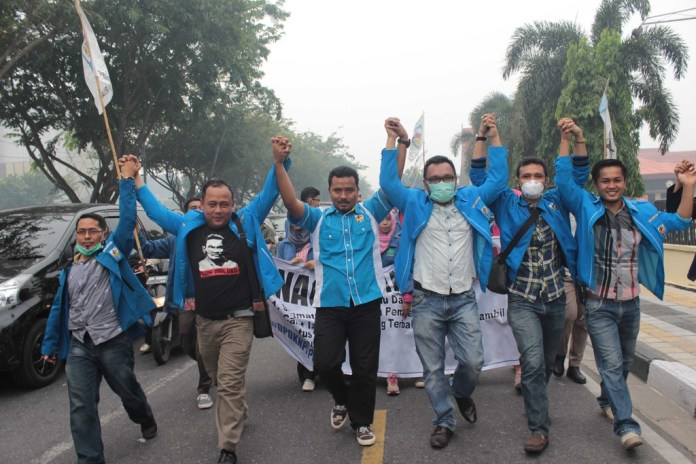 KNPI Riau menagih janji jokowi