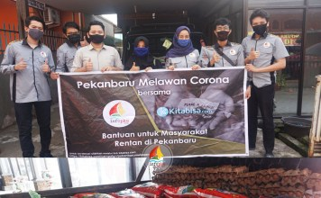Donasi Pekanbaru Melawan Corona