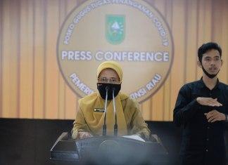 Info Kasus Covid-19 Riau
