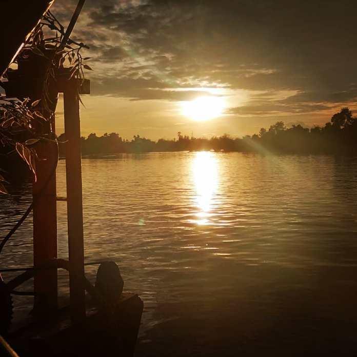 Menikmati Senja di Pekanbaru