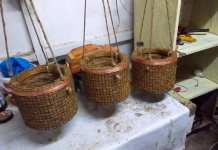 Pot Bunga Unik Dari Sabut Kelapa