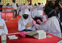 Positif Corona di Riau