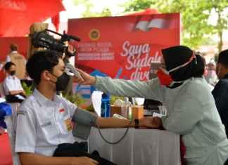Positif Covid-19 di Riau