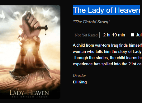 Download The Lady of Heaven Movie
