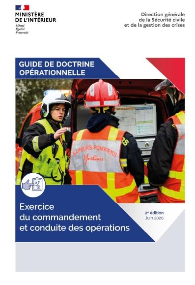 Guide de doctrine opérationnelle - Exercice du commandement et conduite des opérations