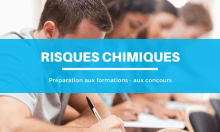 Préparer votre formation en risques chimiques