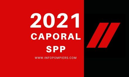Concours caporal SPP 2021