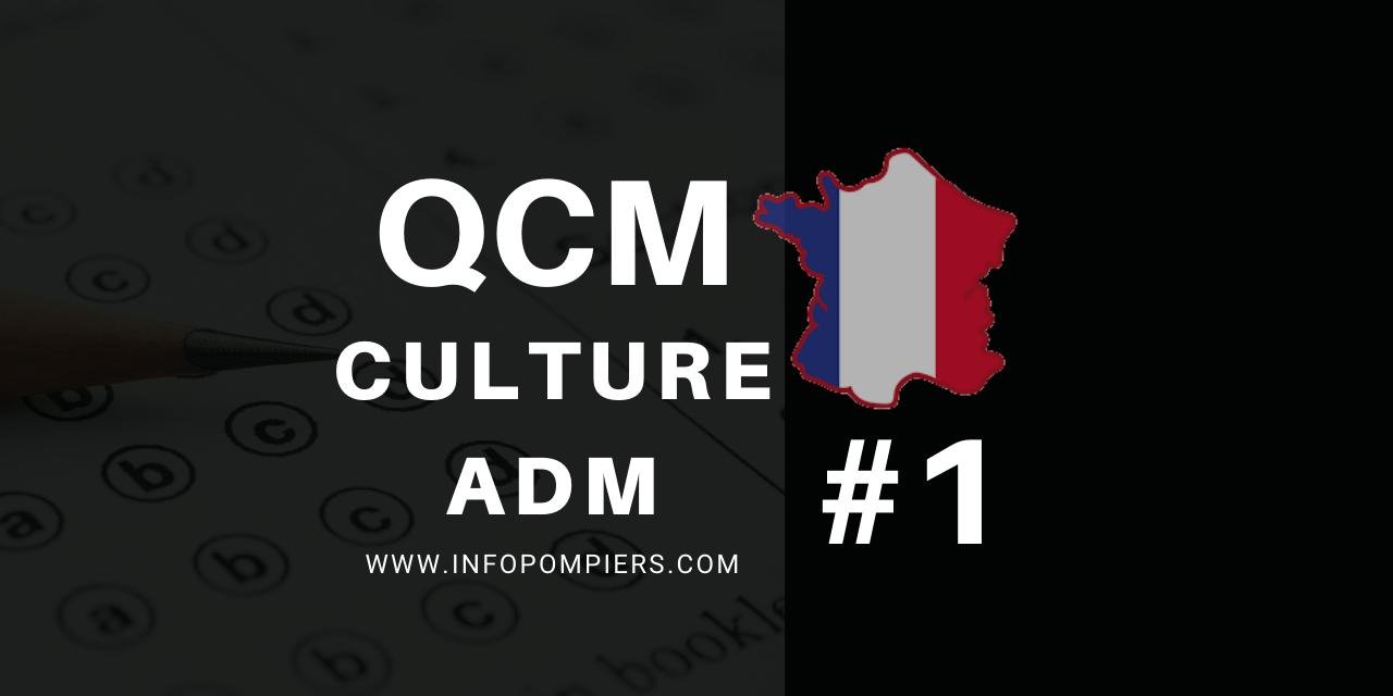 QCM – Culture administrative #1