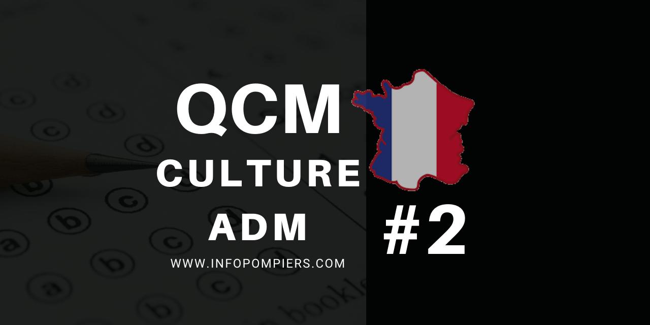 QCM – Culture administrative #2