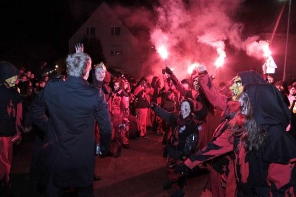 Nachtumzug Narrenbund Schellau – Fotogalerie