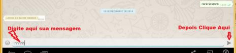 whatsapp mensagem