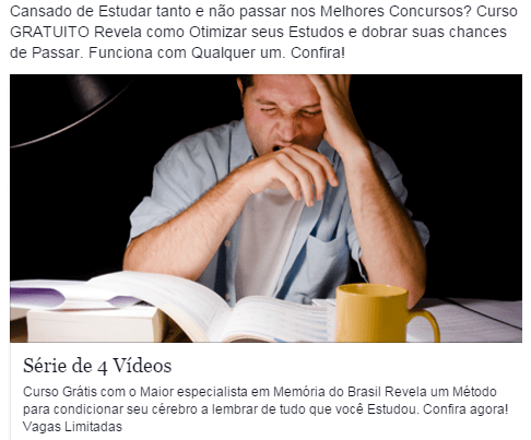 impulsionar no facebook