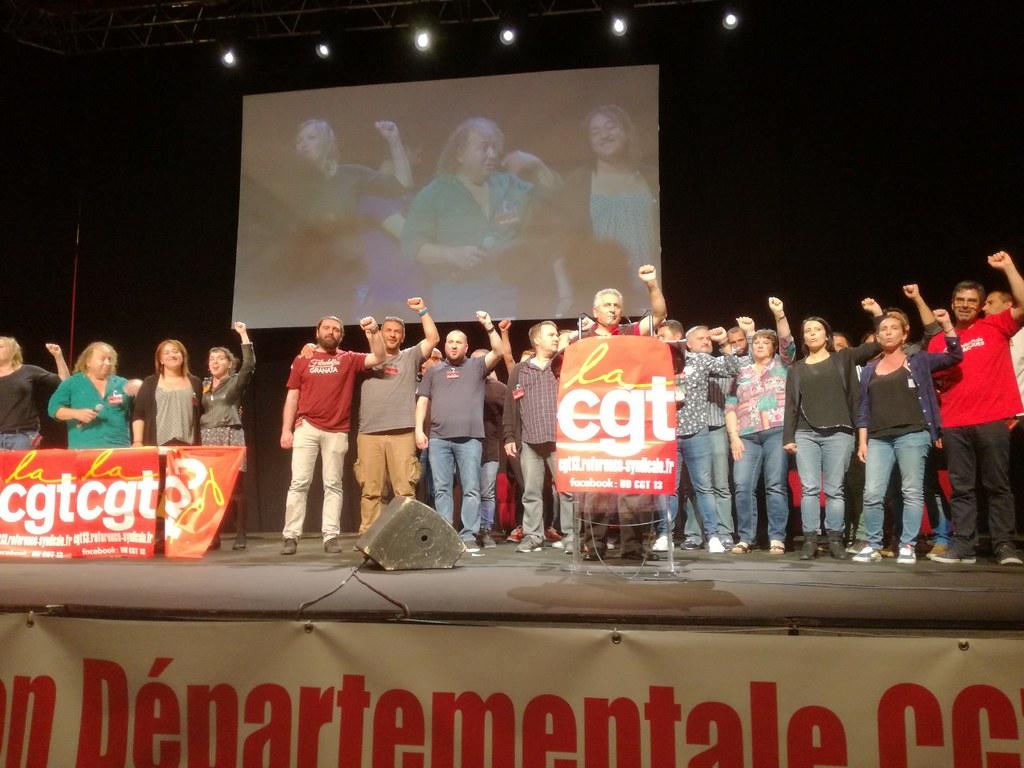Завершился Конгресс регионального профсоюзного центра Марселя 14 июня 2019