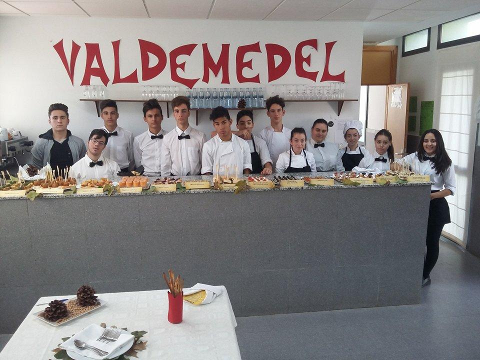 Los alumnos de la formaci n profesional b sica de cocina y for Formacion profesional cocina
