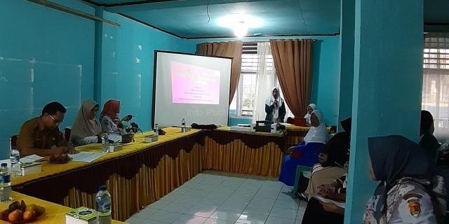 Praktek Lapangan Mahasiswa Poltekkes Kemenkes RI di Kelurahan Aro IV Korong