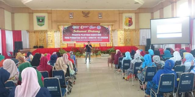 Pertemuan Kader Juru Pemantau Jentik (JUMANTIK) se-Kota Solok