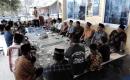 Warga Biruhun Buka Bersama di Mushalla Darussalam