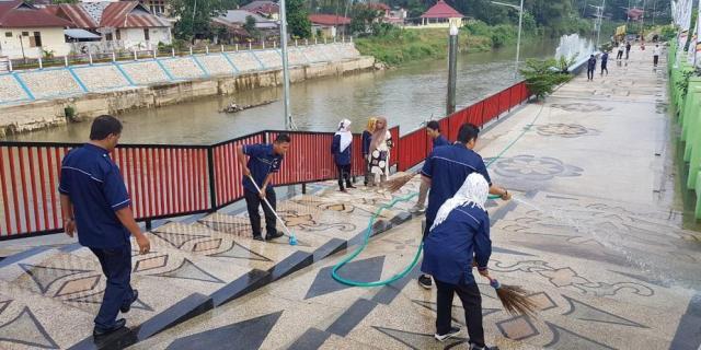 Penataan Bantaran Batang Lembang Kawasan Lapangan Merdeka Dikebut