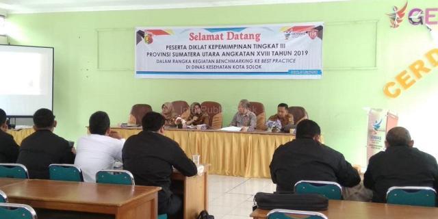 Peserta Diklat PIM III Provinsi Sumut Kaji Tiru ke Kota Solok
