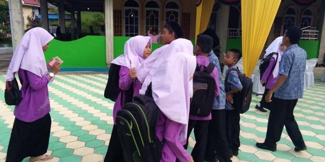SMP 3 Solok Manfaatkan Momen MTQ Menambah Ilmu dan Iman Siswa