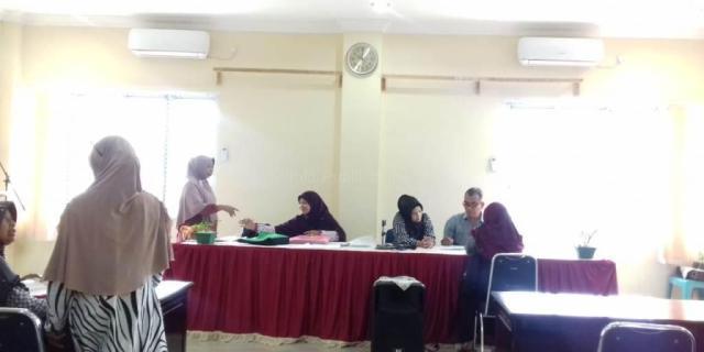 TFL Bersama Lurah VI Suku Periksa Ulang Berkas RTLH