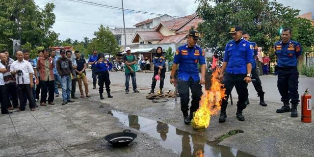 Edukasi Penanganan Potensi Bencana di Kelurahan Nan Balimo