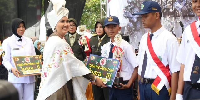 Lomba PBB Tingkat Sumatera Barat, SMPN 1 Solok Sabet Juara III