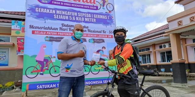 Puncak HKN Ke-56, Dinas Kesehatan Adakan Gowes Sepeda
