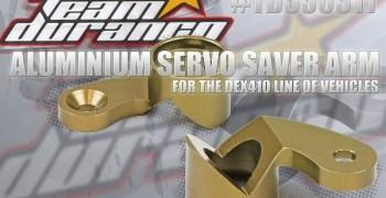 Salva servos en aluminio para la serie 410 de TD