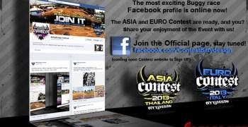 Pagina de Facebook para la Asia Contest y Euro Contest 2013