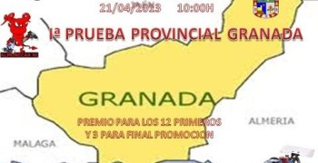 Primera prueba del provincial de Granada 1/8 tt gas