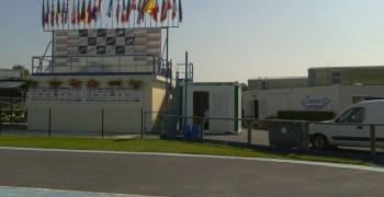 Calentando motores. Campeonato de Europa 1/8TT 2013, Reims, Francia