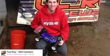 Matt Castellano se despide de TLR y se apunta al equipo Kyosho