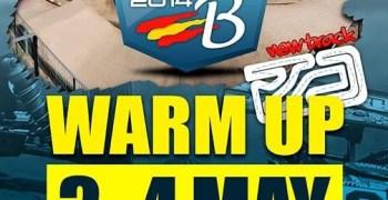 Warm Up del Europeo B 1/8 TT Gas en Fuenca ¡No hagas planes para el 3 y 4 de Mayo!