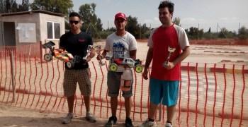 Daniel Bernabé vence en la primera prueba del Regional de Murcia 1/8 TT Gas
