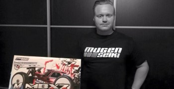Mugen Seiki ficha a Christoffer Svensson