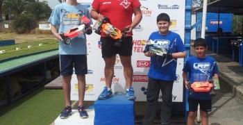 Alexis Díaz y Alex Gabriele vencen la segunda carrera de 1/10 TT en Gran Canaria