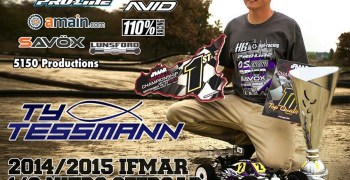 Ty Tessmann rifa una replica del coche con el que ganó el mundial