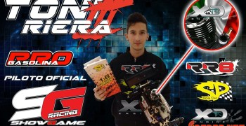El campeón de Mallorca 1/8 TT Gas ficha por las marcas de Showgame