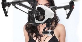 Video - Accidente con un dron durante una sesión de moda